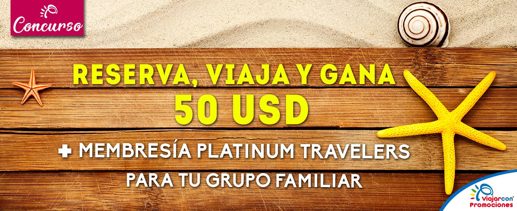 Concurso Membresías Platinum Travelers
