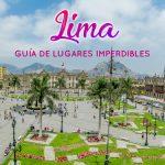 Que hacer en Lima