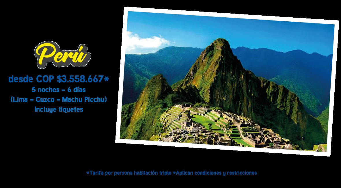 Platinum travelers Peru
